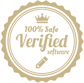 badge - 100% safe verified software