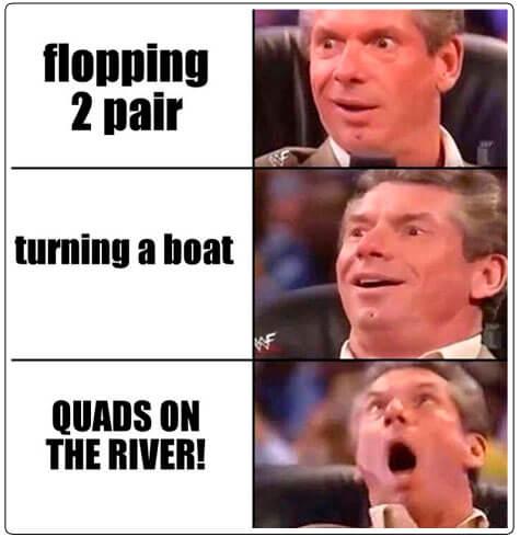 The best feeling ever poker meme