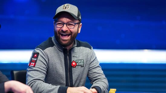 Daniel Negreanu Smiling Poker Game PokerStars