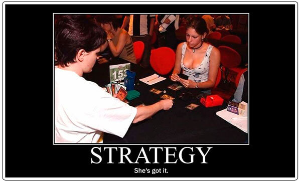 Image of doing it all to win at poker meme