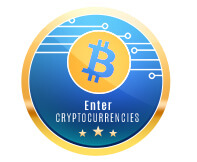 Enter cryptocurrencies icon