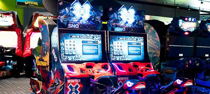 gameworks las vegas inside arcade
