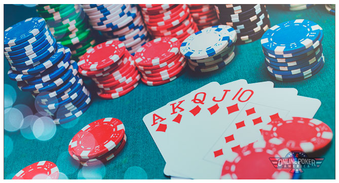 Image of HiJack Seat Poker Cards on a Poker Table