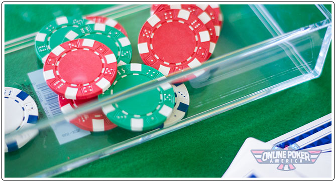 Image of DIY money box for home poker games