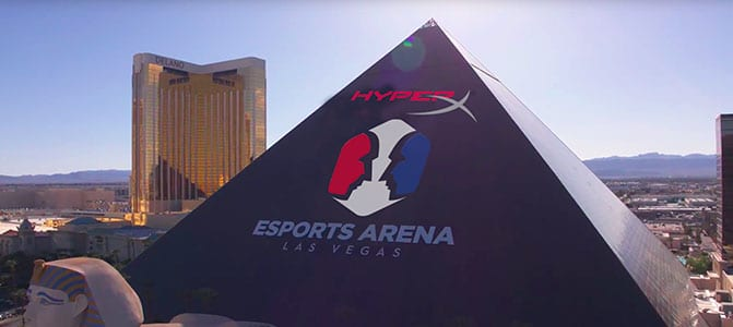 hyper x arena las vegas outside view