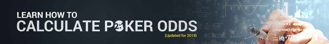 learn to calculate poker odds guide banner