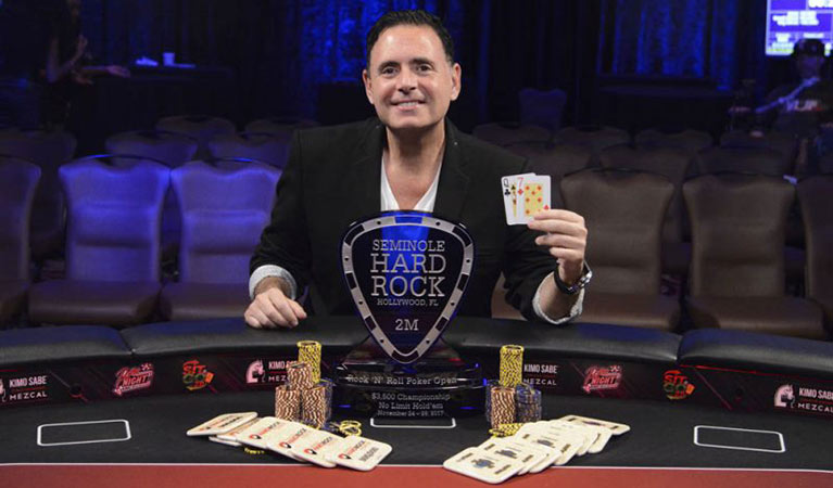 michael newman wins final table at seminole