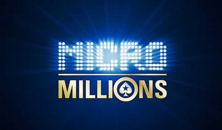 MicroMillions' logo on display