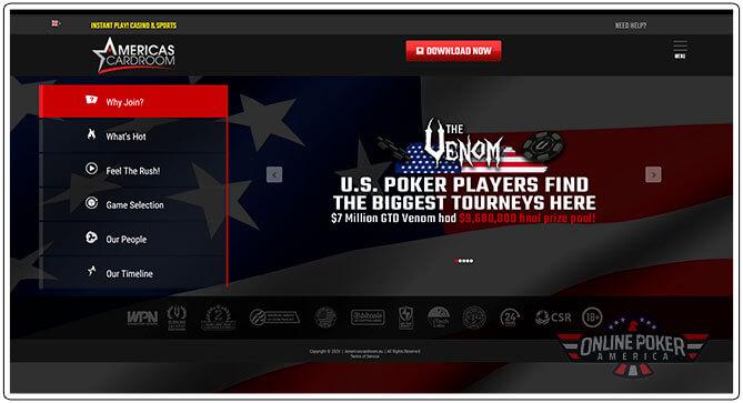 Gambar Turnamen Poker Cardroom Amerika