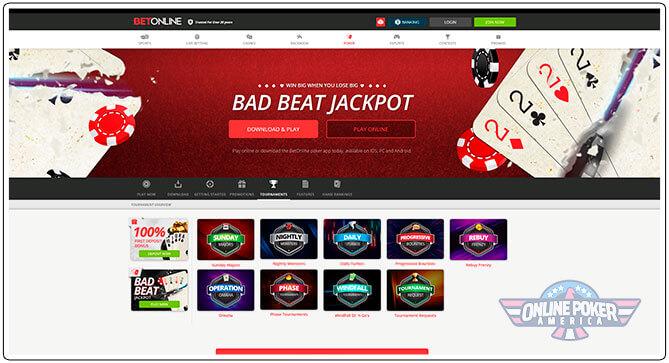 Gambar Turnamen Poker BetOnline