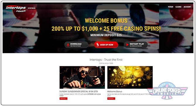 Gambar Turnamen Poker Intertops