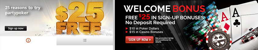 partypoker and pala poker free bonus images