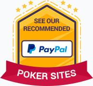 PayPal Deposit Options Poker Sites