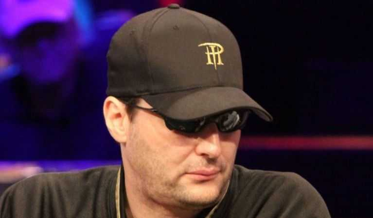 Phil Hellmuth showing his poker face