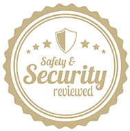 safety security reviewed badge