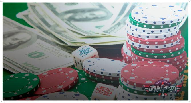 Gambar Saldo Terpisah untuk bankroll poker Anda