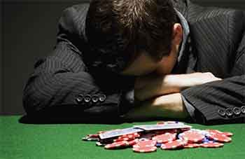 recognise the signs of problem gambling