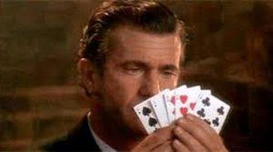 Mel Gibson Raises Money for WPT Foundation