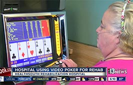 Video Poker To Help Rehab Patients in Las Vegas