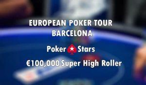 Eibinger Leading in EPT Super High Roller, Barcelona
