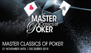 Master Classic of Poker (MCOP) Take Off on November 21