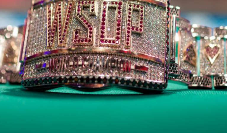 WSOP Bracelet from the event