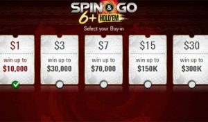 PokerStars Rolls Out Short Deck 6+ Hold'em Spin & Go's