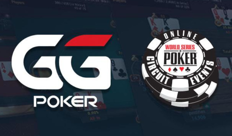 The official logos of GGPoker and WSOP.com