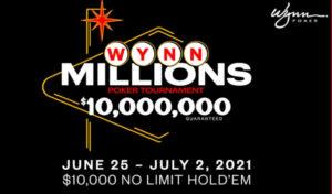 Wynn Signature Series to Feature a $10M GTD 'Wynn Millions'