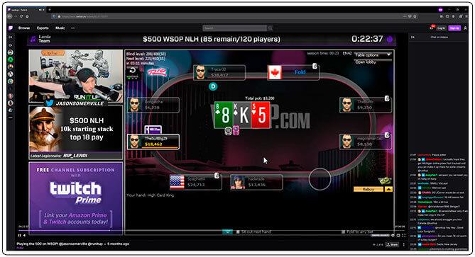 Gambar dari RunItUp Poker Streamer