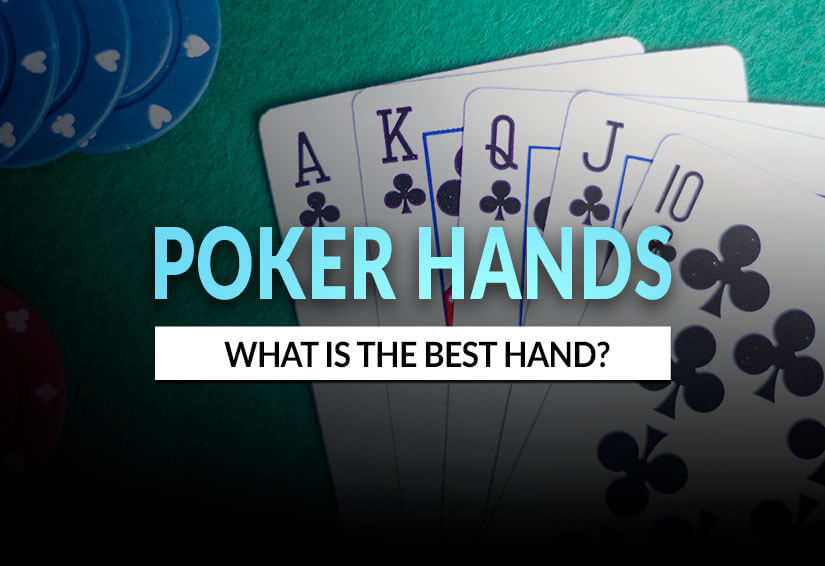 Image of what the best poker hand in poker could be